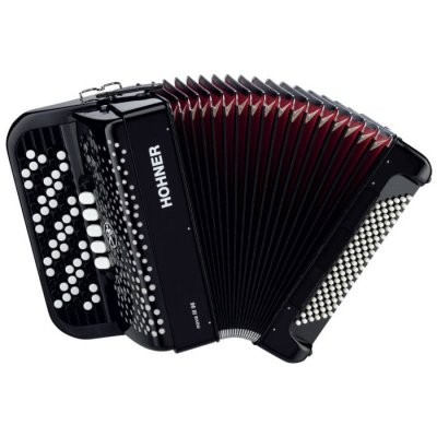 HOHNER Nova III 96 black (C-stepped) 7/8 баян