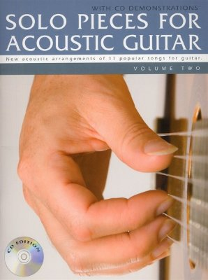AM994422 - Solo Pieces for Acoustic Guitar - Volume Two (Book & CD) - книга:...