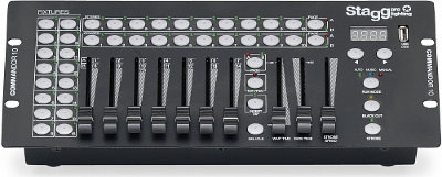 STAGG COMMANDOR 10-2-DMX контроллер с USB