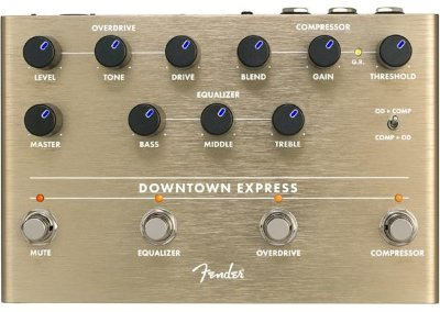 FENDER DOWNTOWN EXPRESS BASS MULTI EFFECT овердрайв-компрессор-эквалайзер