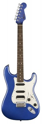 Fender Squier Contemporary Stratocaster HSS, Ocean Blue Metallic Электрогитара Stratocaster, звукосниматели HSS, цвет синий
