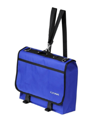 GEWA Bag for music stand and music sheets Basic Blue чехол для пюпитра и нот 38x29x7 см