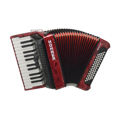 Аккордеон 1/2 HOHNER Bravo II 60 / red