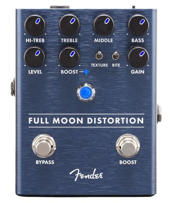 Fender Full Moon Distortion Pedal педаль эффектов - хай-гейн дисторшн