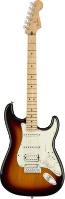 FENDER PLAYER STRAT HSS MN 3TS электрогитара