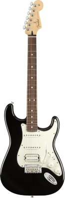 FENDER PLAYER STRAT HSS PF BLK электрогитара