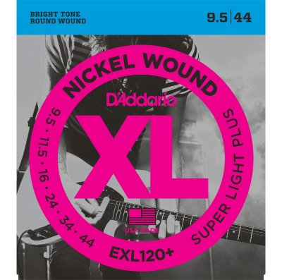 D'Addario EXL120 + - струны для электрогитары Light Plus 095-44