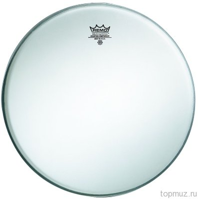 Пластик для барабана REMO BE-0110-00 EMPEROR COATED, 10''