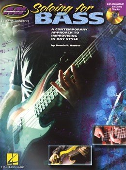 HL00696411 - MUSICIANS INSTITUTE SOLOING FOR BASS GUITAR WITH TAB BOOK/CD