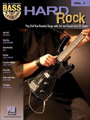 HL00699676 - Bass Play-Along Volume 7: Hard Rock - книга: Играй...