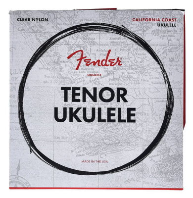 FENDER 90T TENOR UKULELE STRINGS комплект струн для тенор укулеле