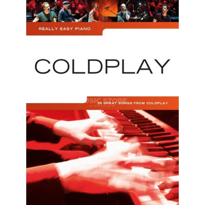 AM1009547 - REALLY EASY PIANO COLDPLAY 2014 UPDATE EASY PF BOOK