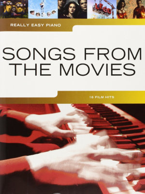 AM1009932 - REALLY EASY PIANO SONGS FROM THE MOVIES EASY PF BOOK