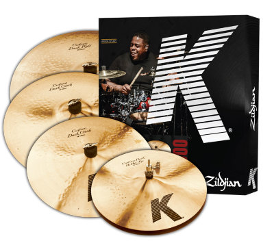 ZILDJIAN KCD900 K CUSTOM DARK 5 PC CYMBAL SET набор тарелок (14' HiHat, 16' Crash, 20' Ride, 18' Crash)