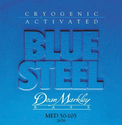 Dean Markley 2676 Med Blue Steel