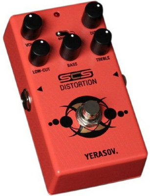 Педаль дисторшн YERASOV RS-10 Distortion