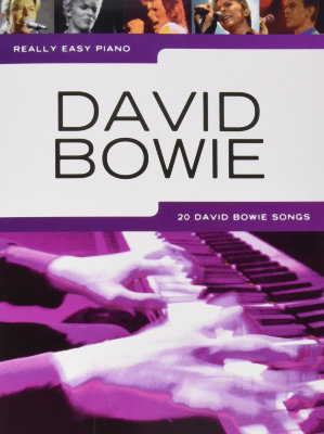 AM1011791 - REALLY EASY PIANO DAVID BOWIE PF BOOK