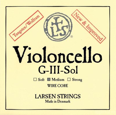Струна для виолончели G (III) LARSEN Standard Cello G Medium