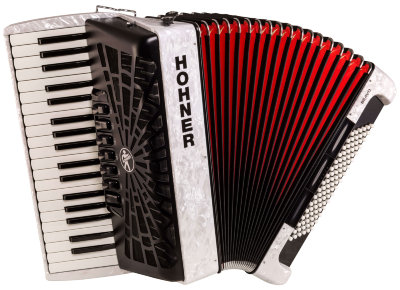 Аккордеон HOHNER The New Bravo III 96 white