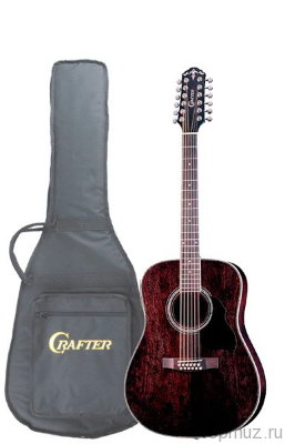 Crafter MD 70-12EQ TBK электроакустическая гитара