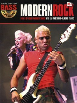 HLE90003738 - Bass Play-Along Volume 4: Modern Rock - книга: Играй...