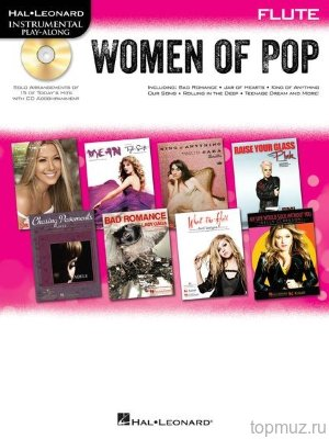 HL00842650 - Hal Leonard Instrumental Play-Along: Women of Pop - Flute...