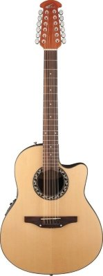 Applause AB2412-4 Balladeer Mid Cutaway Natural электроакустическая гитара