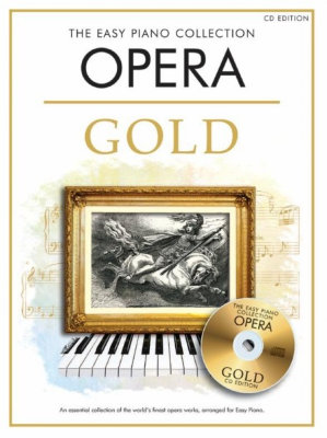CH81950 - The Easy Piano Collection: Opera Gold (CD edition) книга с нотами и аккордами