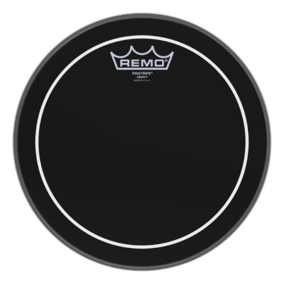 REMO ES-0610-PS Batter, Pinstripe, Ebony, 10'' пластик
