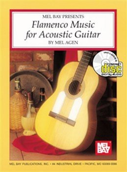 MLB95326BCD - MEL AGEN FLAMENCO MUSIC FOR ACOUSTIC GUITAR GTR BOOK/CD