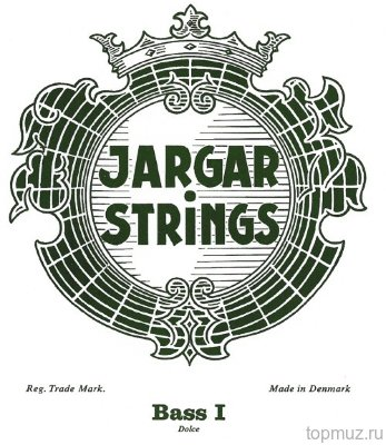 Струны для контрабаса Jargar Medium 5 String