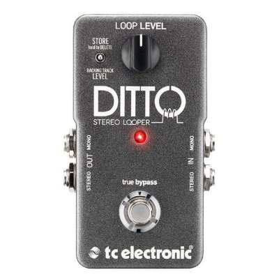 TC ELECTRONIC DITTO STEREO LOOPER педаль стерео-лупер