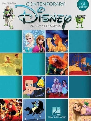 HL00195620 - CONTEMPORARY DISNEY THIRD EDITION 50 FAVORITE SONGS PVG BOOK
