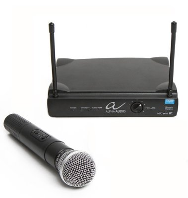 Alpha Audio Mic one WL микрофонная радиосистема