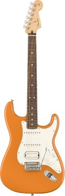 FENDER PLAYER STRATOCASTER® HSS PAU FERRO FINGERBOARD CAPRI ORANGE электрогитара