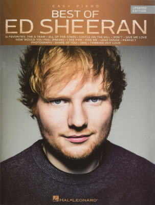 HL00236098 - SHEERAN ED BEST OF UPDATED EDITION FOR EASY PIANO BOOK