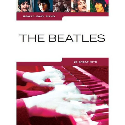HL00242082 - REALLY EASY PIANO THE BEATLES PF BOOK