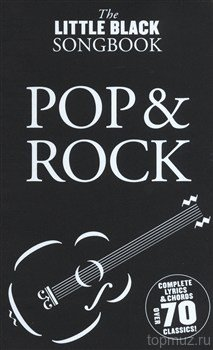 AM986172 - The Little Black Songbook: Pop And Rock - книга: Маленькая...
