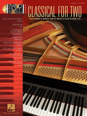 HL00290575 - Piano Duet Play Along Volume 28: Classical For Two - книга:...
