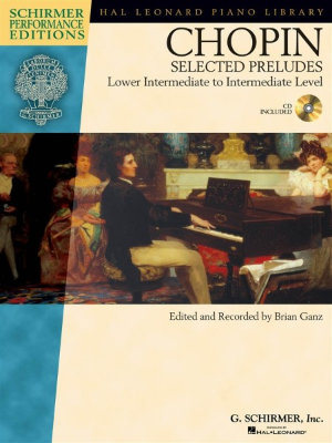 HL00296720 - Frederic Chopin: Selected Preludes - Piano (Book And CD)...