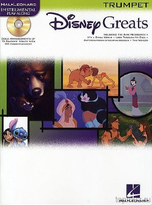 HL00841938 - Disney Greats: Trumpet - книга: сборник хитов Диснея...