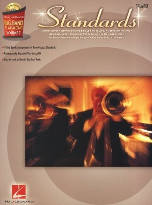 HL00843136 - Big Band Play-Along Volume 7: Standards - Trumpet - книга:...