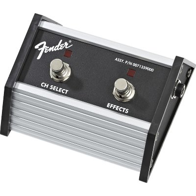 "FENDER 2-Button Footswitch: Channel Select / Effects On/Off with 1/4"" Jack футсвич"
