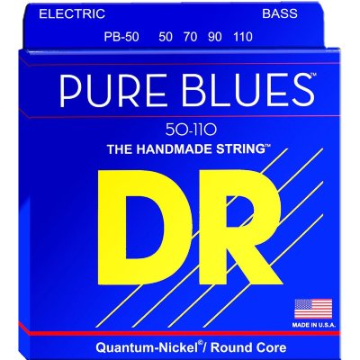 DR PB-50 (50-110) PURE BLUES струны для бас-гитары