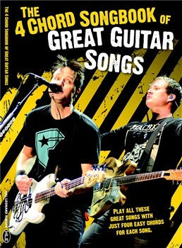 HLE90004695 - The 4 Chord Songbook Of Great Guitar Songs книга с нотами и аккордами
