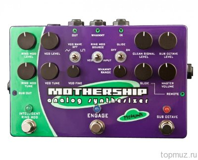 PIGTRONIX MGS Mothership Guitar Analog Synthesizer