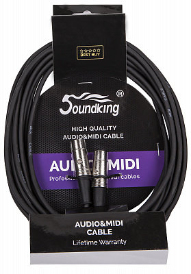 SOUNDKING BC405 (20FT) - кабель DIN(5pin) - DIN(5pin) , 6 м