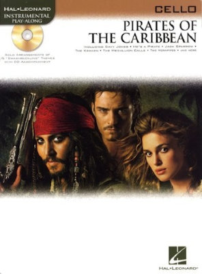 HL00842192 KLAUS BADELT PIRATES OF THE CARIBBEAN (CELLO) VLC BOOK/CD