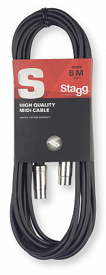 STAGG SMD6 -6м, соединители 5 pin DIN