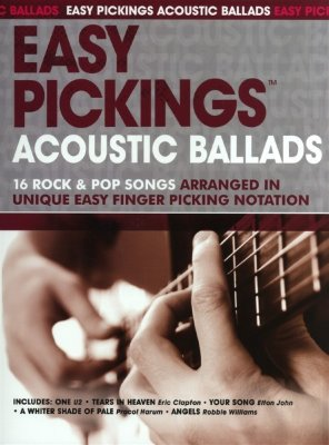 AM991771 - Easy Pickings: Acoustic Ballads - книга: сборник баллад...